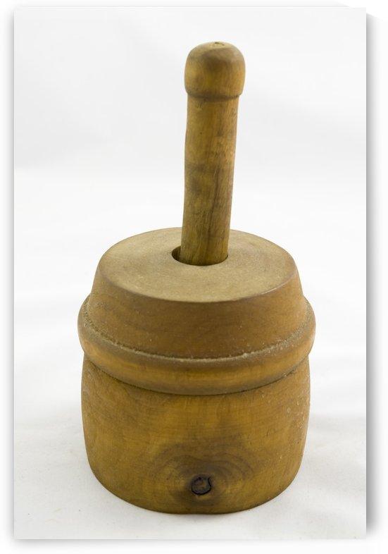 Antique Butter Mould 2 by Bob Corson