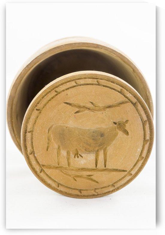 Antique Butter Mould by Bob Corson