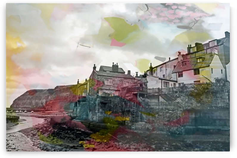 Colourful Staithes III by Tracy-Ann Marrison