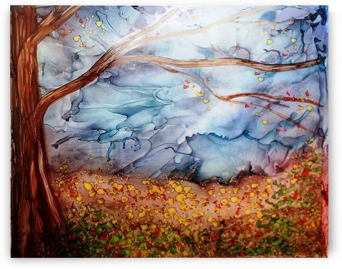 Hundred Acre Wood by Liz Dillard