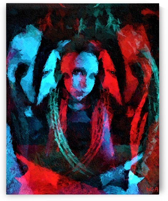 3 Faces  -  by Neil Gairn Adams  by Neil Gairn Adams