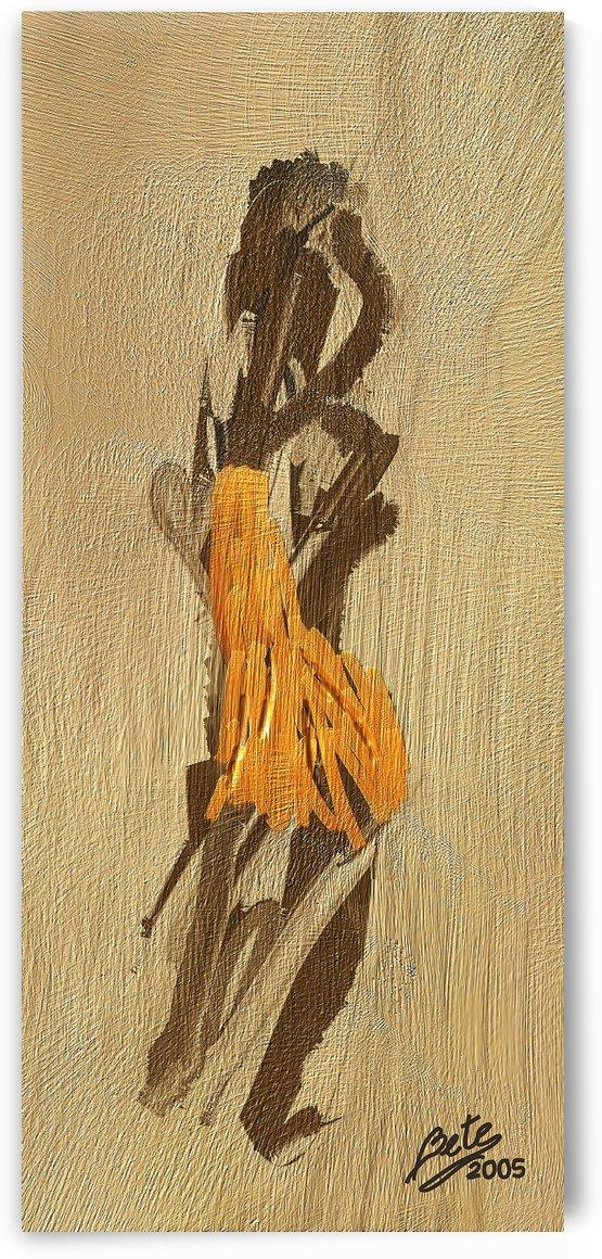 Yellow dress by Betty De Oliveira