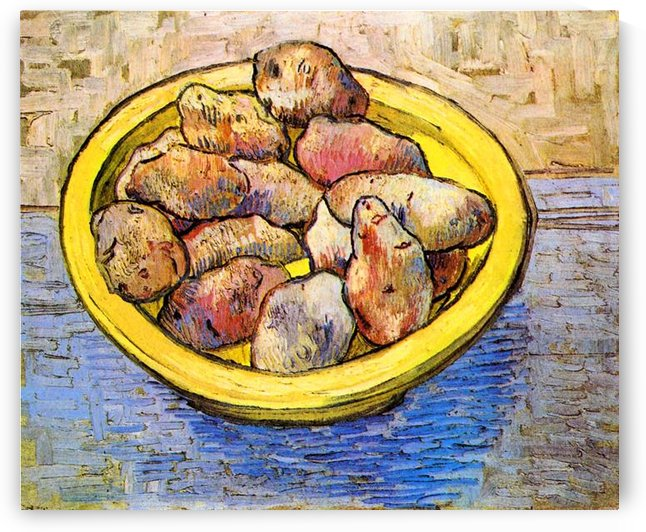 Still Life with Potatoes by Van Gogh by Van Gogh