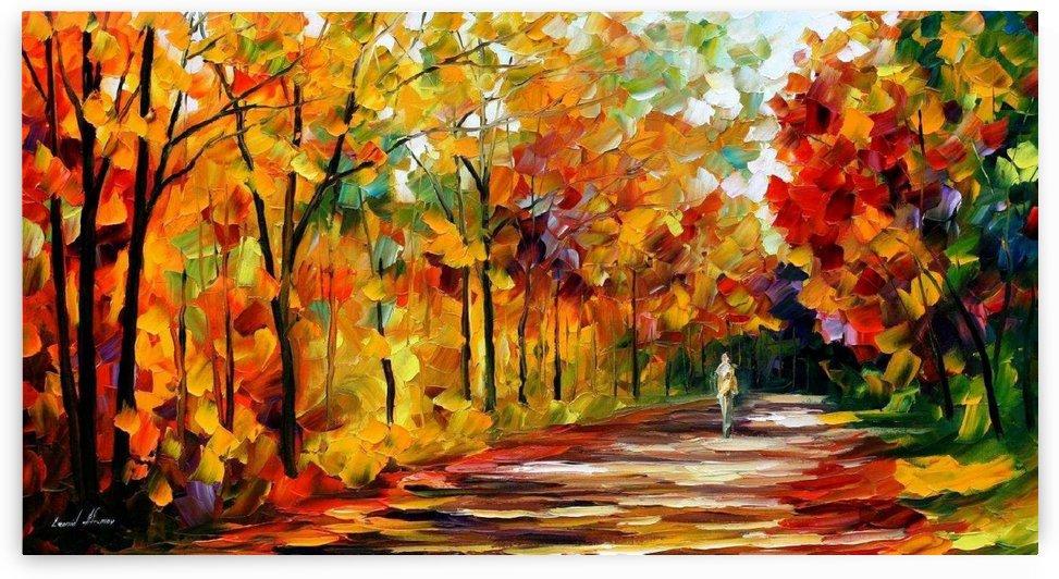 Round the autumn by Arooj Zahra