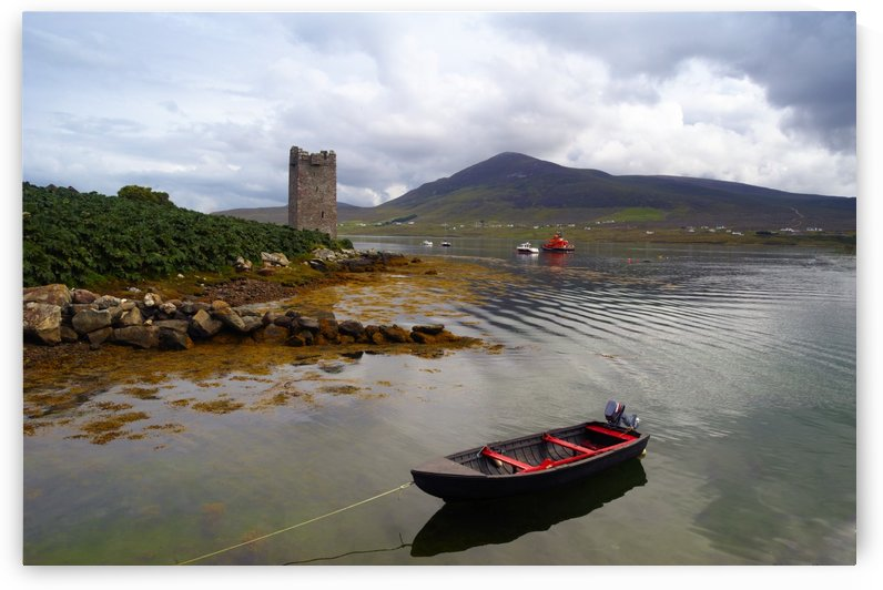 MO 079 Granuailes Tower Achill by Michael Walsh