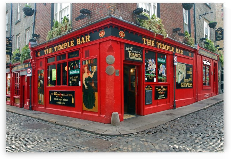 D 011 Temple Bar by Michael Walsh