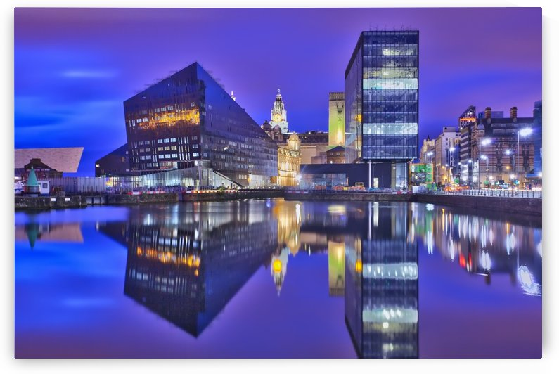 LIV 004 Dock Reflections_1549590972.26 by Michael Walsh