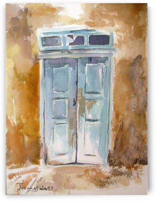 the Blue Doore by JAMALEDDIN TOOMAJNIA