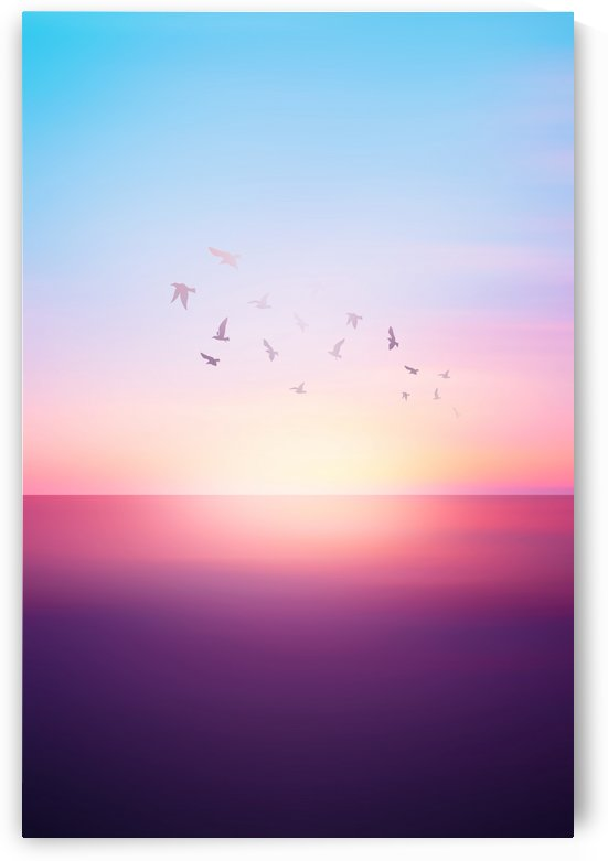 Abstract Sunset VIII by Art Design Works