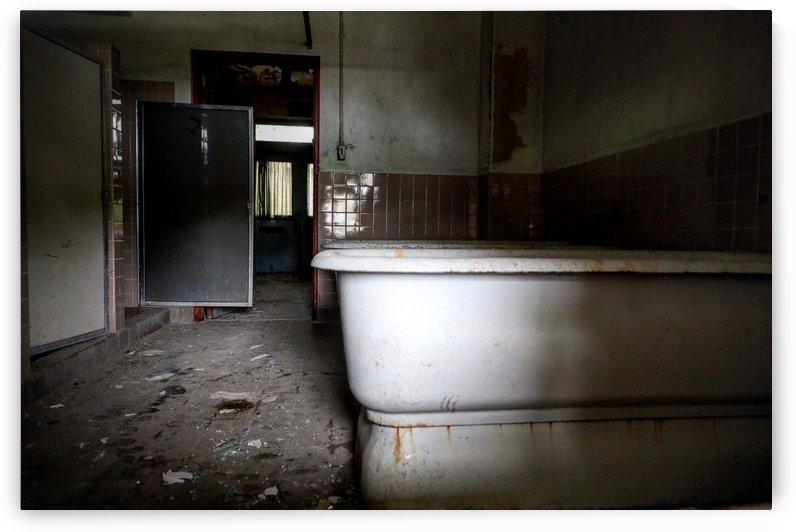 Tub In Mental Hospital by Chris Levine