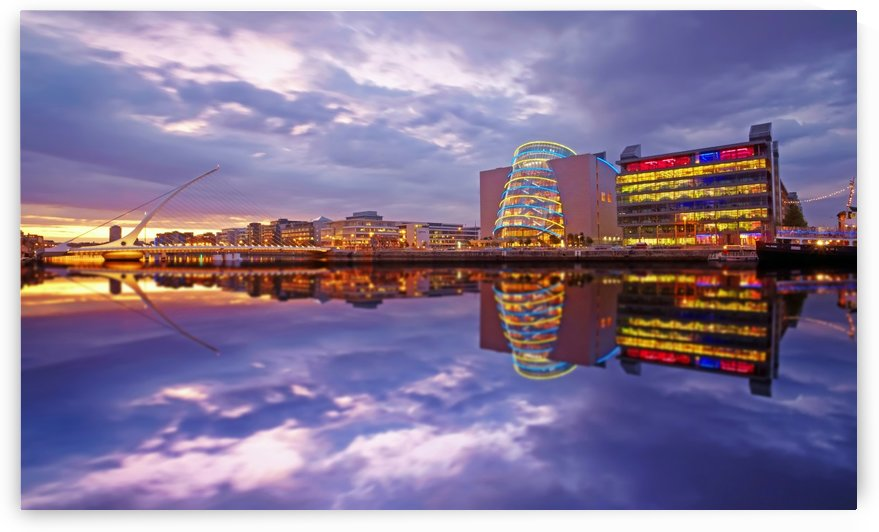 D 228 Docklands Reflection_1549660923.69 by Michael Walsh