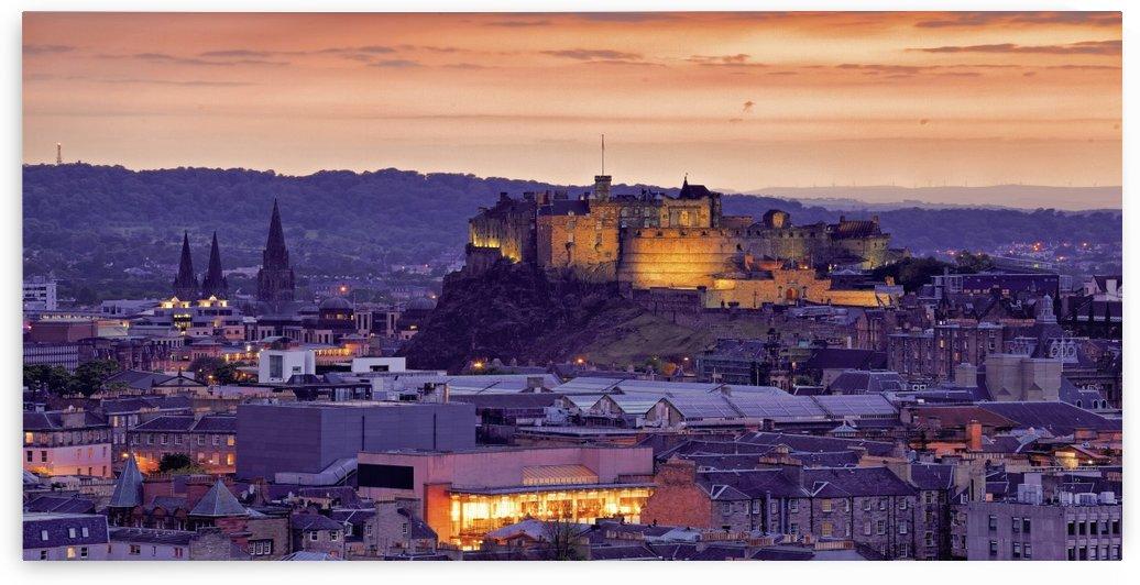 ED 001 Edinburgh Castle by Michael Walsh