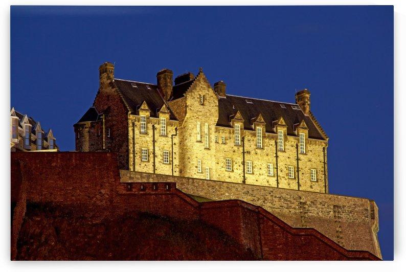 ED 008 Edinburgh Castle by Michael Walsh