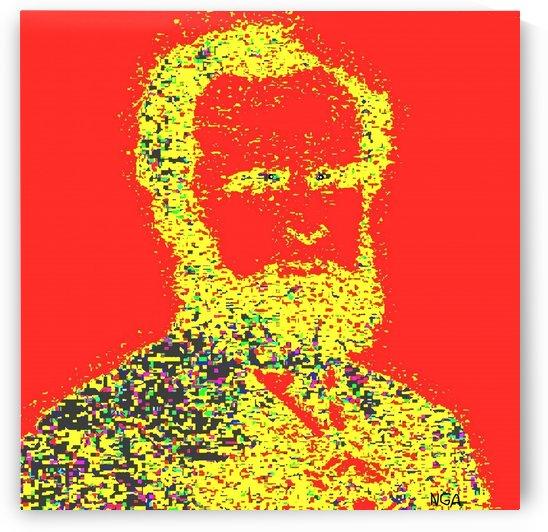 Man with Beard  - by Neil Gairn Adams by Neil Gairn Adams