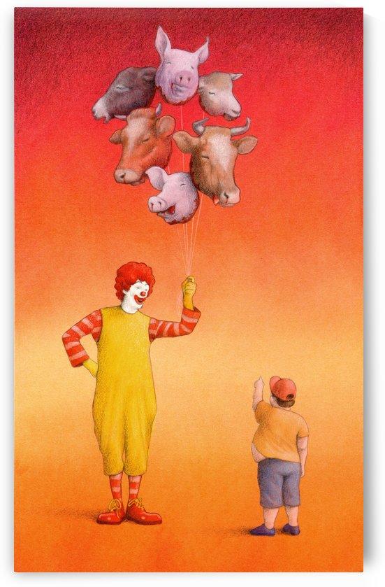 balloons by Pawel Kuczynski