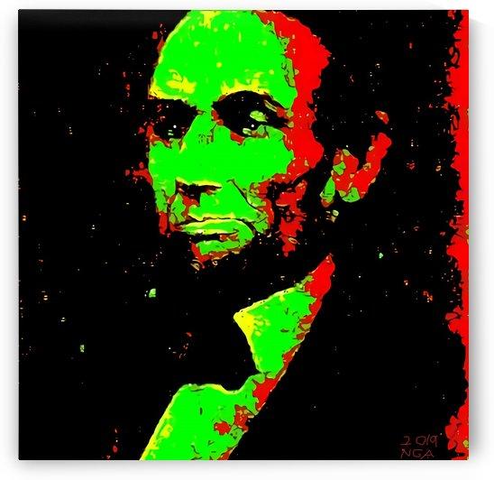 Lincolns been shot  - by Neil Gairn Adams by Neil Gairn Adams