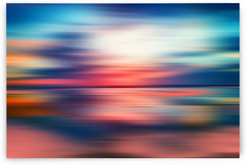 Abstract Sunset VI by Art Design Works