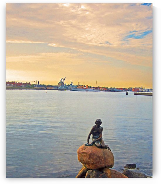 The Little Mermaid Statue by Gods Eye Candy