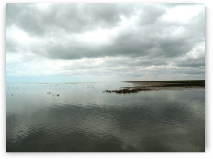 Sea and Clouds by JAMALEDDIN TOOMAJNIA