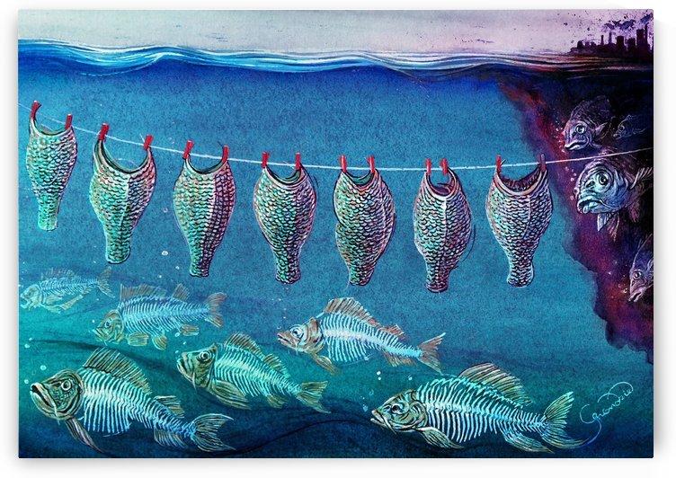 Fish cleaning by Krzysztof Grzondziel by Krzysztof Grzondziel