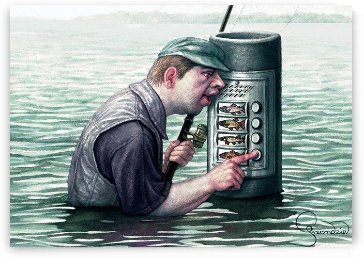 Call for fish by Krzysztof Grzondziel by Krzysztof Grzondziel