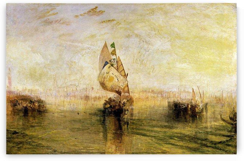Sun of Venice, underway by Joseph Mallord Turner by Joseph Mallord Turner