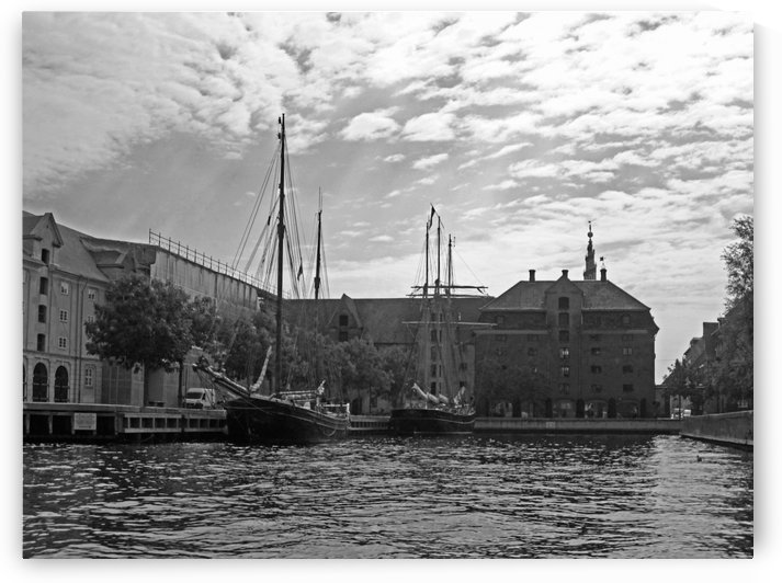 Come Sailing B&W by Gods Eye Candy