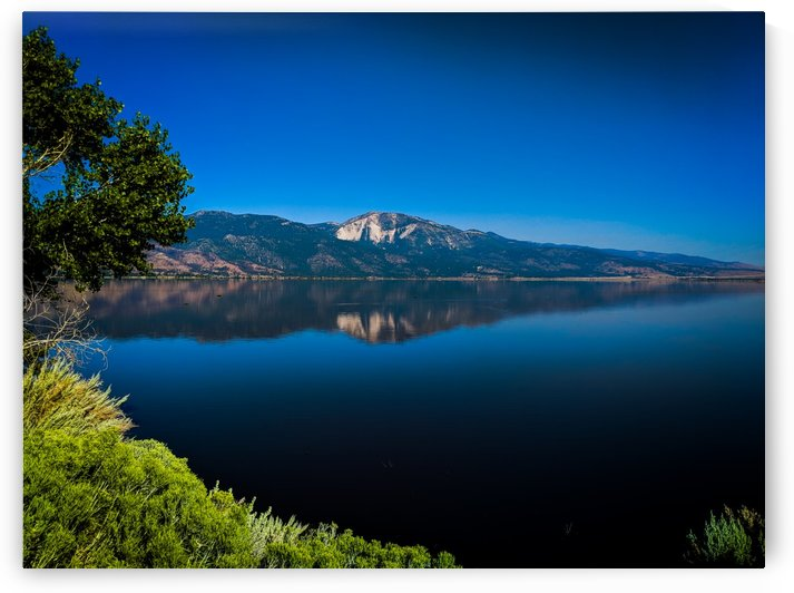 Mountains of Washoe Lake by Tom Nolle