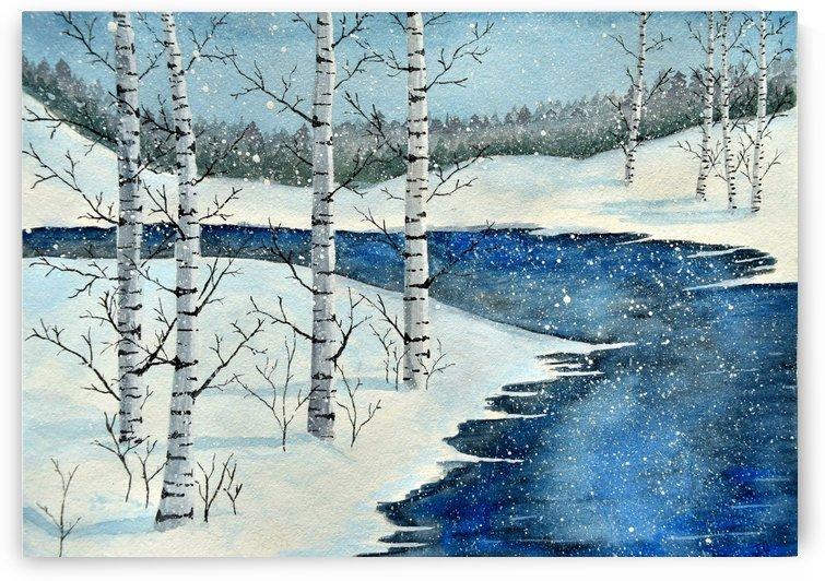Winter Blues by Olga Osi