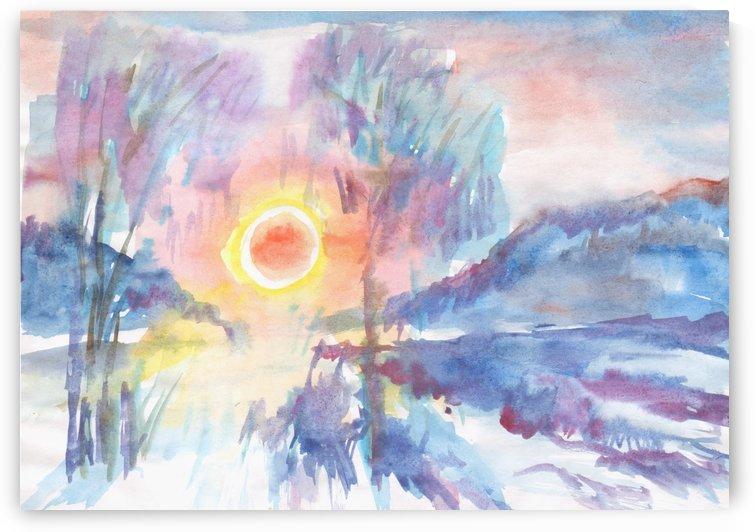 Sunny winter morning by Dobrotsvet Art