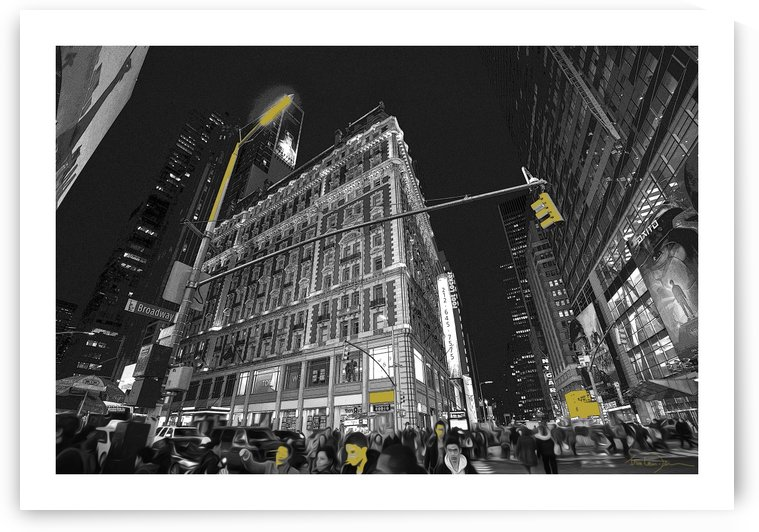 New York 20x14 by Jean-Louis Desrosiers