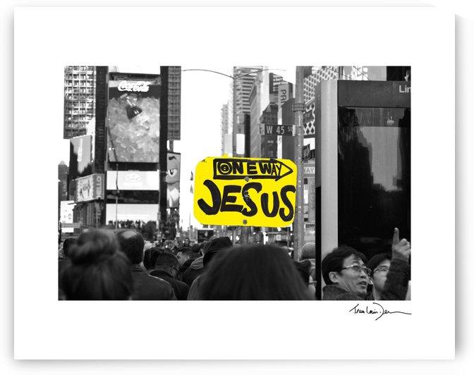 One way jesus by Jean-Louis Desrosiers