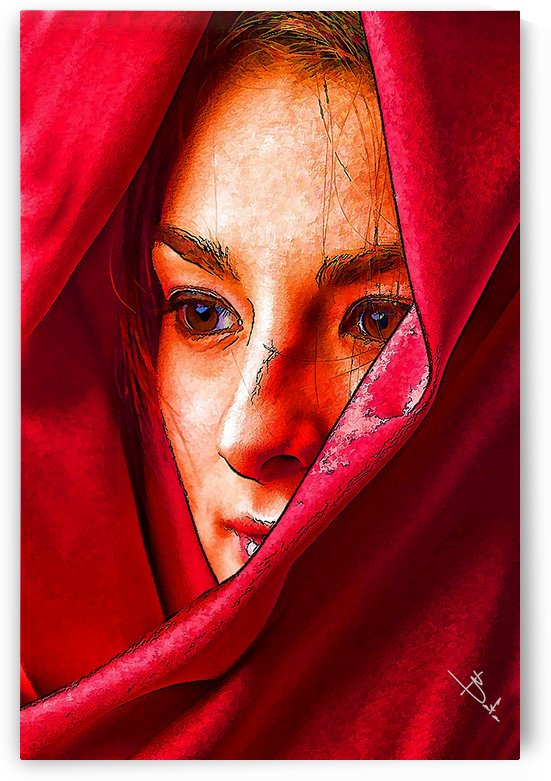 Bianca in red by Betty De Oliveira