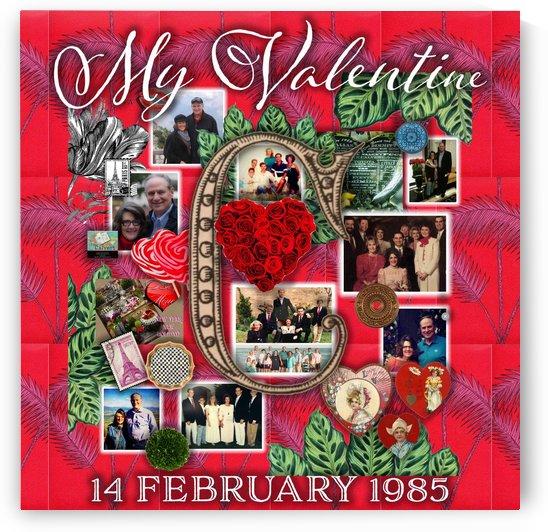 Valentine Design by Nancy Calvert
