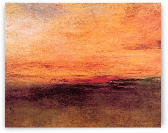 Sunset by Joseph Mallord Turner by Joseph Mallord Turner