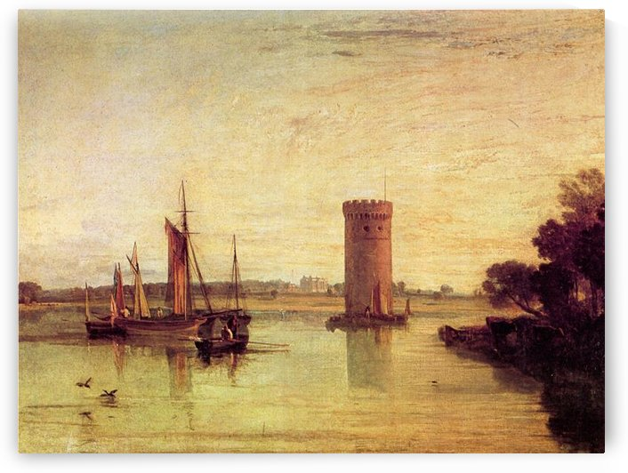Tabley, calm day by Joseph Mallord Turner by Joseph Mallord Turner
