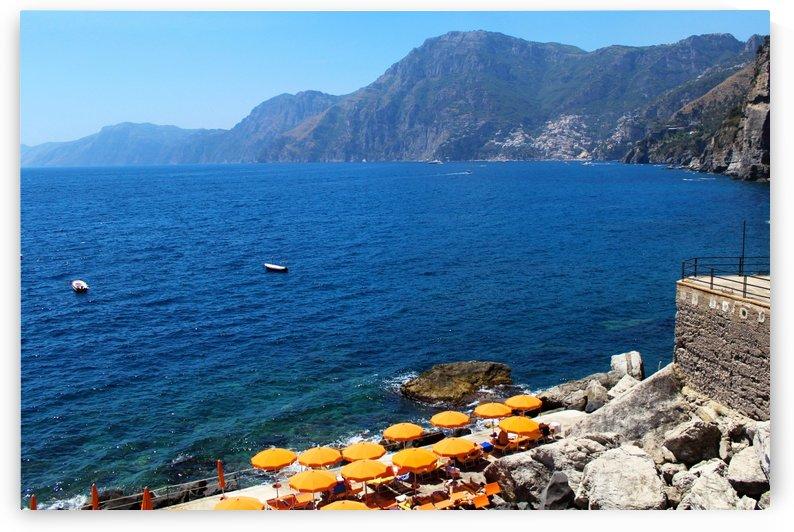Praiano Beach - Amalfi Coast by Bentivoglio Photography