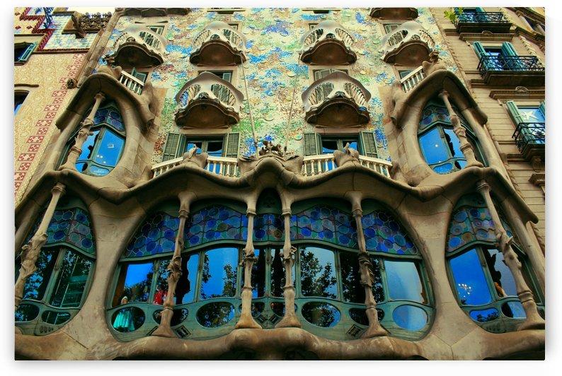 Casa Milla - Barcelona - Spain Landmark by Bentivoglio Photography