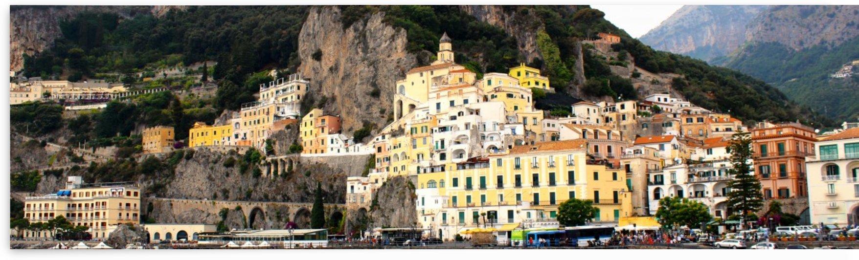 Amalfi Coast Super Panoramic  by Bentivoglio Photography