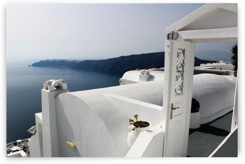 Santorini Landscape - Oia by Bentivoglio Photography