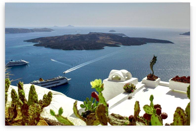 Landscape -Amazing Ocean View - Santorini Island by Bentivoglio Photography