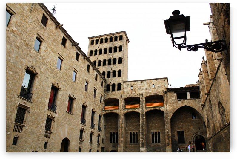Gothic Quarter - Catalunya - Spain Landmark by Bentivoglio Photography