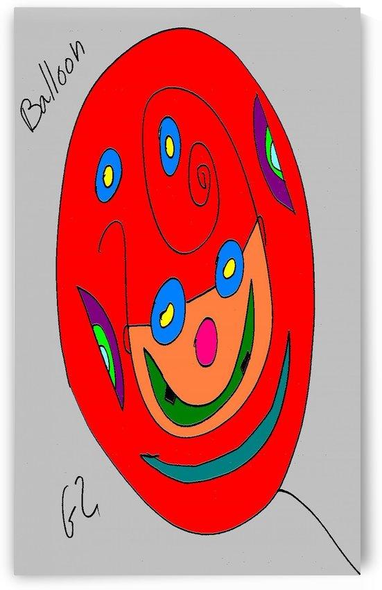 Balloon2 by Gizi Zuckermann