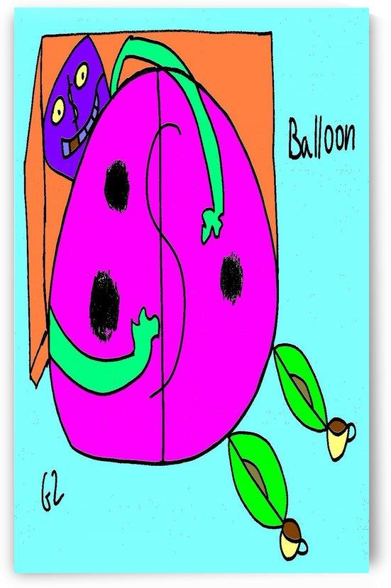 Balloon by Gizi Zuckermann