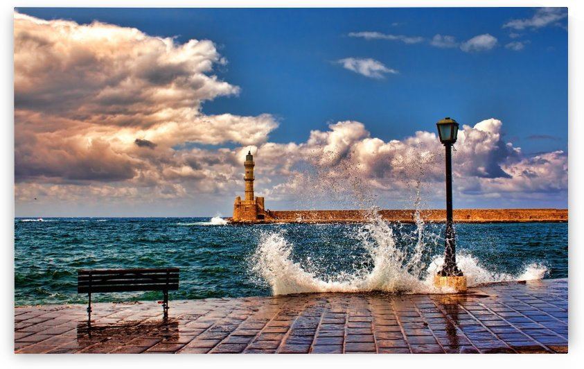 Chania by V.C.