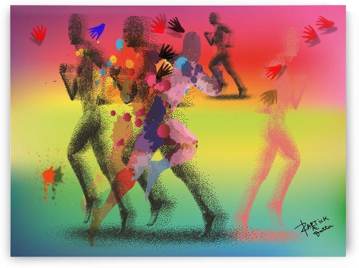 Run of mind  by kartick dutta