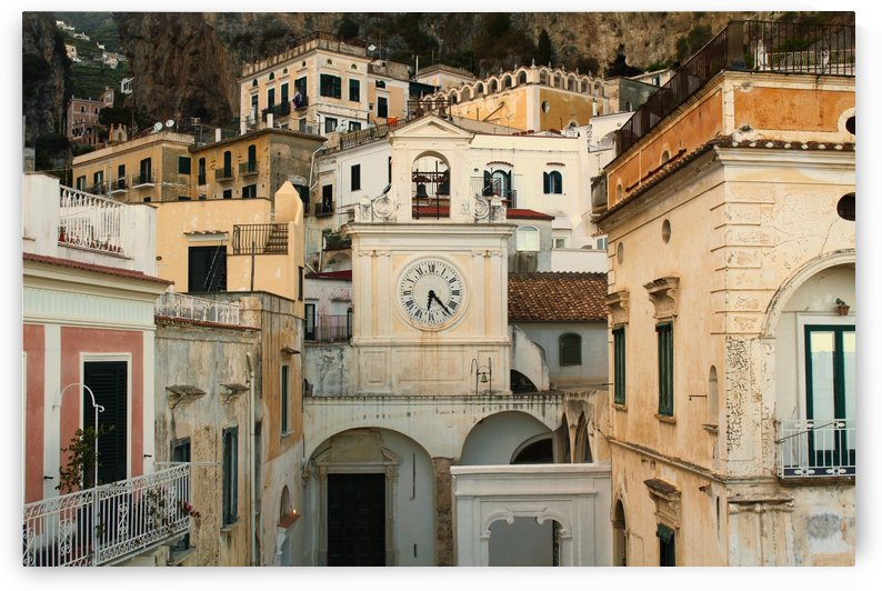 Church Clock - Italy  by Bentivoglio Photography
