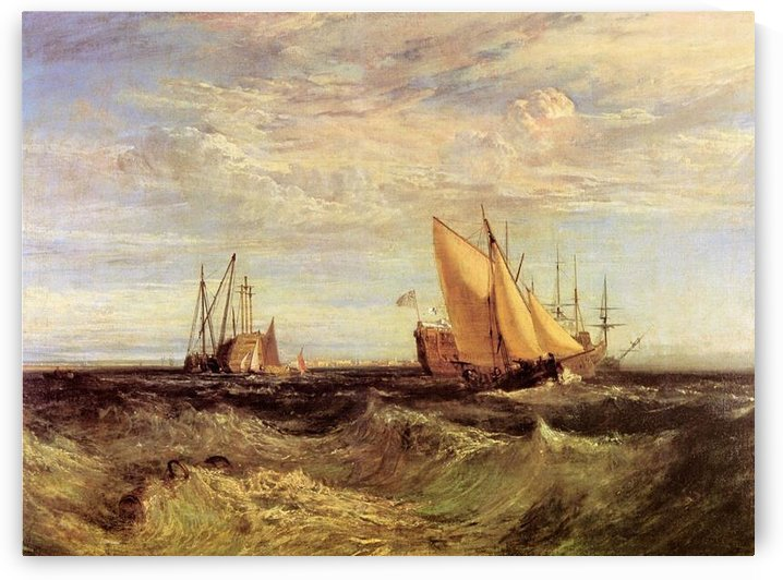 Thames at the Medway by Joseph Mallord Turner by Joseph Mallord Turner