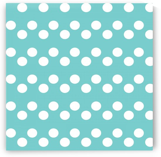 Dark Slate Gray Polka Dots by rizu_designs
