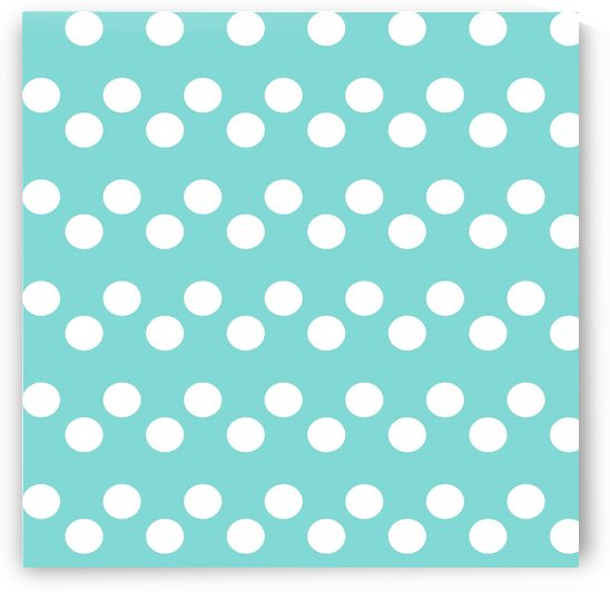 MINT Polka Dots by rizu_designs